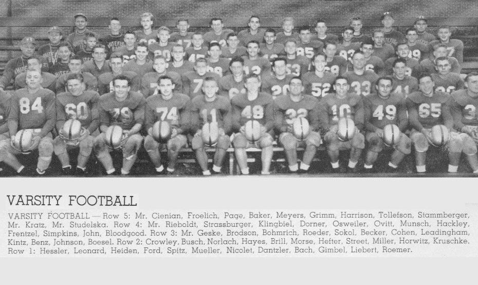 Varsity 1954