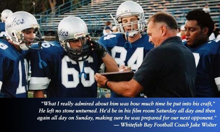 Jim Tietjen Coaching Players
